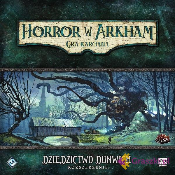 Horror w Arkham: Gra karciana - Dziedzictwo Dunwich | Galakta // darmowa dostawa od 249.99 zł // wysyłka do 24 godzin! // odbiór osobisty w Opolu